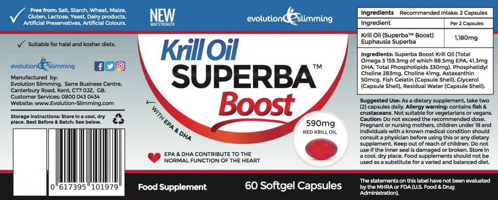Superba Krill oil supplement